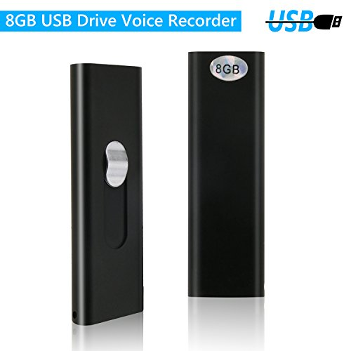 Digital Voice Recorder 8 Gb Voice Aktiviert Noise Reduktion Diktiergerät Multi-sprachen Langlebige Dual Mikrofone Audio Digital Recorder Tagungen