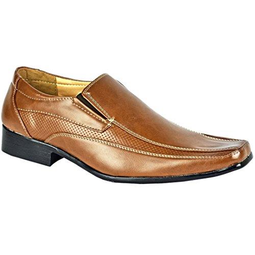 MYSHOESTORE  Italian Shoes,  Herren Stiefel Braun / Zimtbraun
