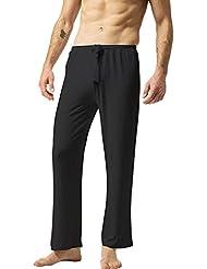 ZSHOW Homme Pantalon de Sport en Coton Souple Yoga Pyjama Super Soft