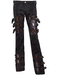 Aderlass Steampunk Pants Brocade Black