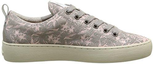 Palladium Damen Ganama Print Sneaker Grau - Gris (C50 Perla/Flower)