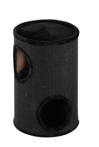 Produktabbildung von Europet Bernina 431-407585 Trend Kratztonne Everlast-Tower 37 x 37 x 56 cm, schwarz