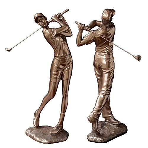 SDBRKYH Golfeur Figurine, Golfeur Statues Décoration pour La Maison Décoration Ornement Sculpture...