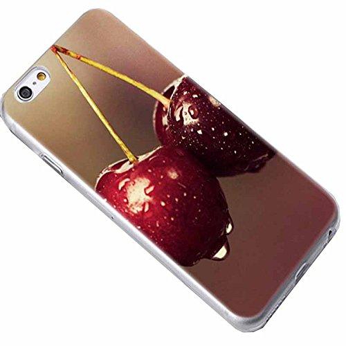 Easbuy Cute Fleur Soft TPU Silicium Etui Étui Housse Coque Pour iPhone 7 Anti-Scratch Silicone Silikon Cover Silicon Case Mode 8