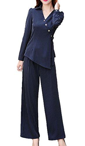 4e9ea78cbfbb SK Studio Damen Sakko Anzug Slim Fit Business Hoseanzug Rockanzug Karriere  Lange Ärmel Rock Blazer Kombinationen