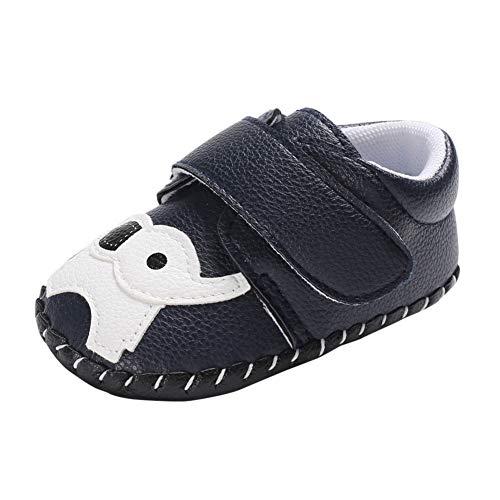 Miyanuby Zapatilla de Deporte para Bebé Niños Lindo Elefante Suela de Goma Blanda Antideslizante Primeros Zapatos para Niños 0-18 Meses