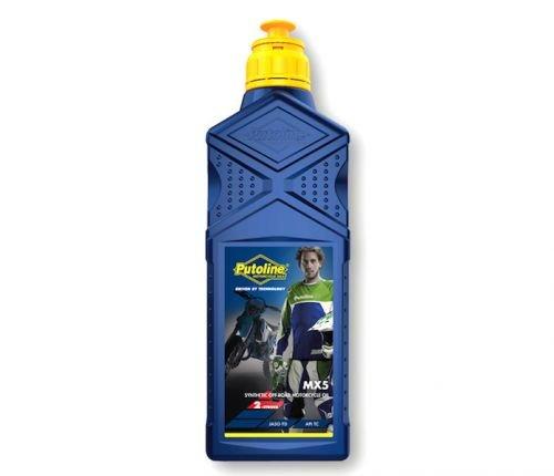 1 Liter 2-Takt Motor Öl MX 5 synthetisch API TC JASO FD für Motocross Enduro Motorrad -