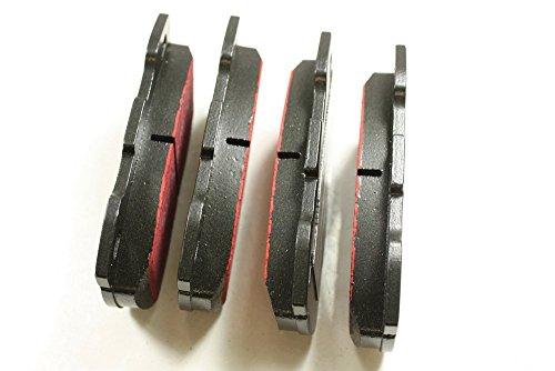 EBC Front Brakes Brake Pad Set 110 110 Defender 110 Defender 90 RHD from (axle) 20L21633B BA 2202