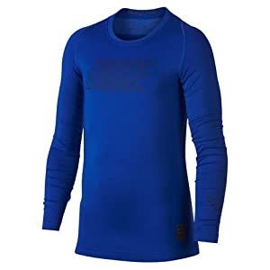Nike Jungen Np Top Ls Compression Pro Langarm Trainingsoberteil