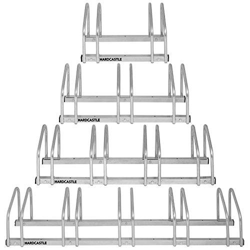 Hardcastle Support de Rangement pour Vélo à Monter au Mur/Sol - Choix de Taille