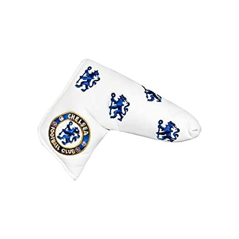 Chelsea F.C. blade puttercover & Wasserbasis, für Klinge puttercover- mit herausnehmbarer, mit Klettband, für OHP opening- ca. 17 cm, 15 x 6 cm im blister Aufstellfunktion Offizielles Fußball-Merchandising-Produkt