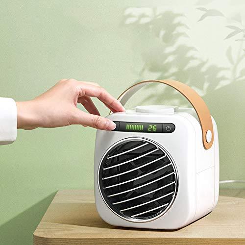XXL Air Cooler LuftküHler Mobile KlimageräTe Klimaanlage Ventilator Cool Air Ventilator, Luftbefeuchter und Luftreiniger für BüRo/Hotel