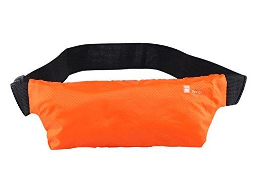 LAAT Outdoor Sports Waist Packs Unsichtbare Anti Diebstahl Taschen Ultra Slim Fitness Gürtel Laufen Handy taschen Radfahren Wandern Wandern 25.5 * 9CM Dunkelblau