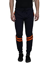 Rigo Navy Solid With Orange Stripe Detailing SlimFIt Jogger