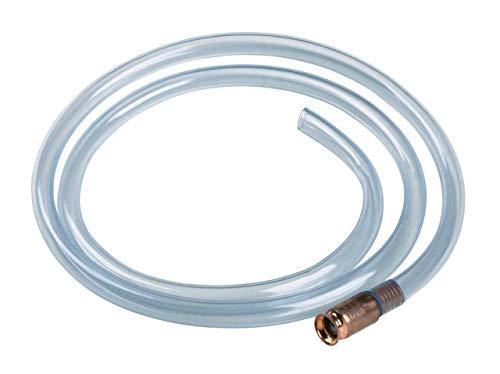 Chiloskit Siphonschlauch selbstsaugend Wasser Flüssigkeit Siphon Manueller Siphon Shaker Transfer für Gas Transfer Siphon Öl Transfer Kraftstoff-Transfer, 1,8 m x 1,3 cm -