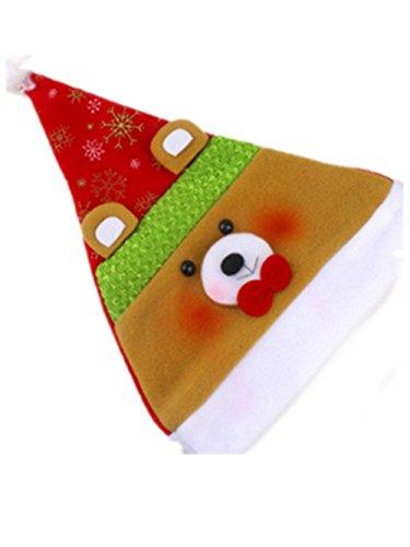 Swallowuk Karikatur Weihnachts Party Hüte Kinder Hut Kappe für Kinder Hauptdekoration (Klassische Paare Kostüme)