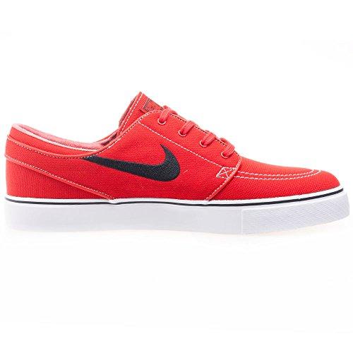 Nike Herren Zoom Stefan Janoski Cnvs Skaterschuhe Rot / Schwarz