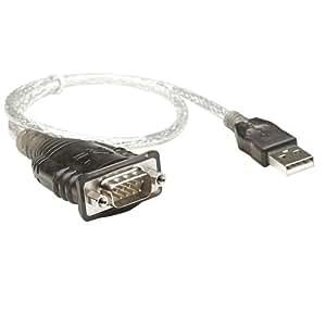 Manhattan 205153 Adaptateur DB9 vers USB 0,45 m