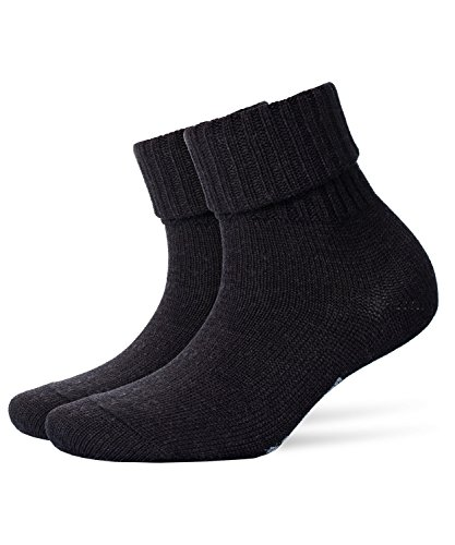 Burlington Plymouth Damen Socken anthra.mel (3080) 36-41 One size fits all (Gr. 36-41)