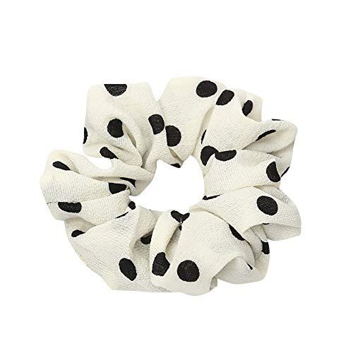 LUGOW Damen Yoga Stirnbänder Elastic Nettes Turban Geknotetes Bandanas Turban Head Wraps Hair Beads Breit Haarbänder Haarreife Haarspangen Haargummis Haarschmuck(Z04195-Weiß) - Sportliche Wrap