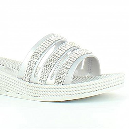 Heavenly Feet , Damen Sandalen Silber