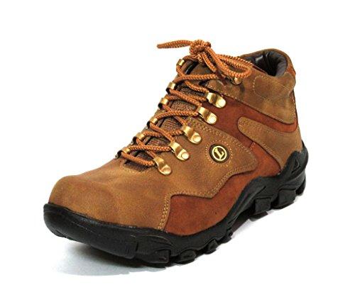 Fbt Men's 314 Camel-Brown Casual Shoes - 8