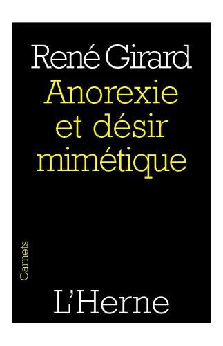 En ligne téléchargement gratuit Anorexie et désir mimétique pdf, epub