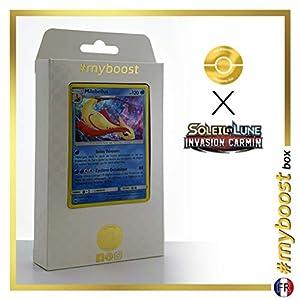 Milobellus (Milotic) 27/111 Holo - #myboost X Soleil & Lune 4 Invasion Carmin - Box de 10 Cartas Pokémon Francés