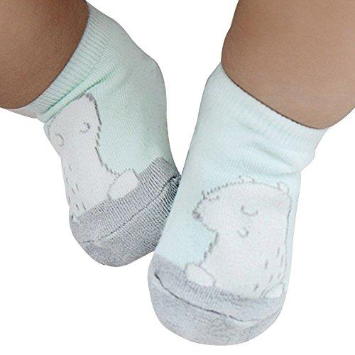 MORESAVE Delle ragazze dei neonati Bunny modello orso Calzini antiscivolo Skid brevi calzini