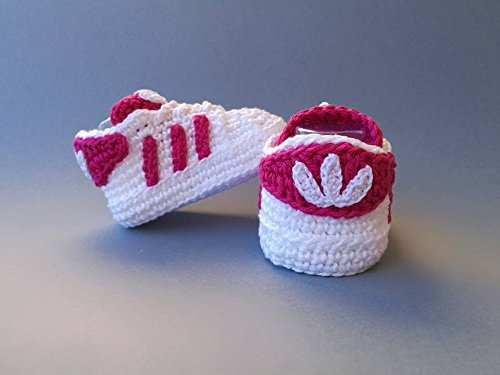 1de43e18a6e8 Crochet Pattern adidas Superstar baby sneakers eBook  paula chelaru ...