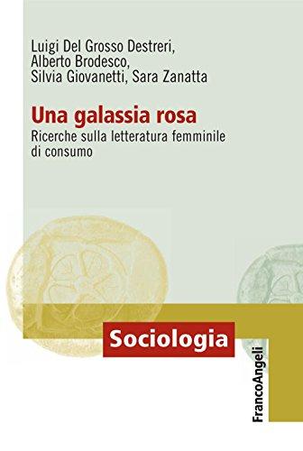 Una galassia rosa. Ricerche sulla letteratura femminile di consumo: Ricerche sulla letteratura femminile di consumo (Sociologia)