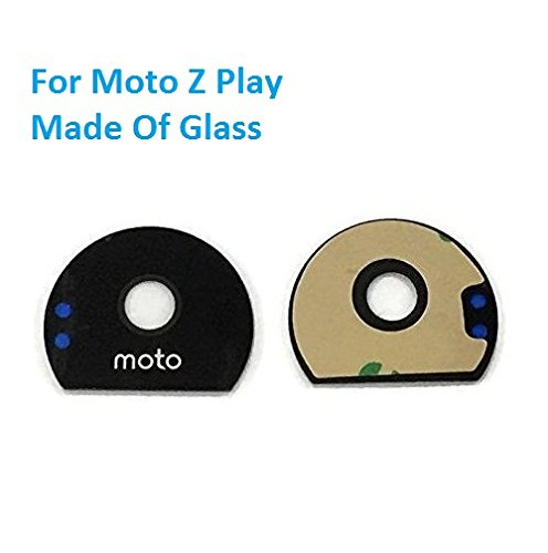 MrSpares Rear Back Camera Glass Lens With Adhesive Sticker For Motorola Moto Z Play