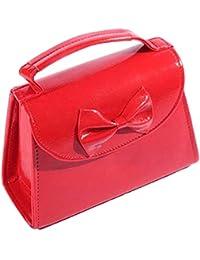 c537b052e849b SugarShock Damen 50er Jahre pin up Schleifen rockabilly Handtasche