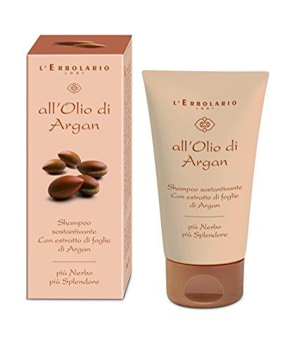 L'Erbolario Arganöl Haarshampoo, mit pflegender Wirkung, 1er Pack (1 x 150 ml)