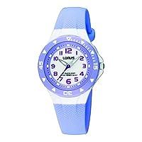 Lorus Mdchen analoog kwarts horloge met rubberen armband RRX51CX9