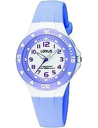 Lorus Girls Quartz Watch, Analogue Classic Display and PU Strap RRX51CX9