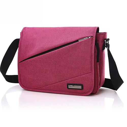 Art Und Weise Schulter Beutel Beiläufiger Handtaschen-Rucksack-Tagesrucksack,Red Red