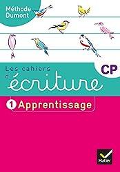 Les cahiers d'écriture CP Éd. 2019 - Cahier nº 1 APPRENTISSAGE