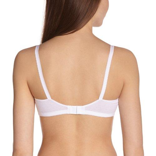 DIM - Reggiseno Essentiels Confort Eco, donna Bianco (Blanc)