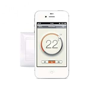 Thermostat WARM-ON WIFI régulation Smartphone, App gratuit App Store / Google Play