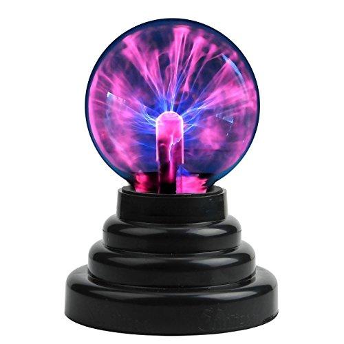Touch-Sensitive Lightning USB Globe Kugel Ball scientifictoy Magic Crystal Licht Amazing Lampe für Büro Schreibtisch, Kinder Kind Party Geburtstag Geschenk Geschenk derocation (In Der Halloween-nacht Vor Weihnachten)