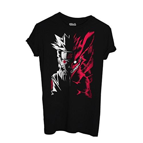 T-Shirt OFFBEATS NARUTO - CARTOON by Mush Dress Your Style - Uomo-L-Nera