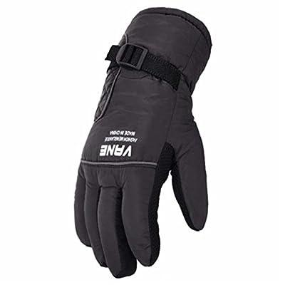 Skifahren Handschuhe Warme wasserdichte Handschuhe Ski Gear Fahrradhandschuhe, 08