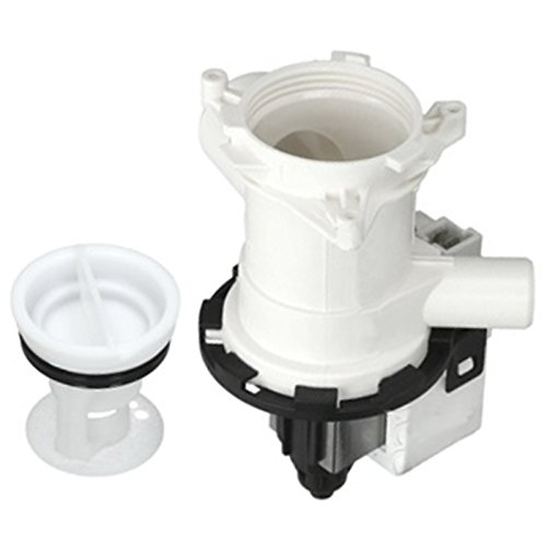 SPARES2GO Complete Drain Pump Outlet & Filter for SMEG Washing Machine -