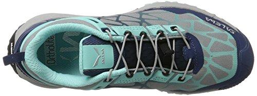 Salewa Damen Multi Track Halbschuh, Chaussures Multisport Outdoor Femme Turquoise (Dark Denim/aruba Blue 8670)