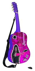 Chica Vampiro Chica Vampiro-K2000CV Disney Guitarra Clásica, Color Fucsia (Lexibook K2000CV)