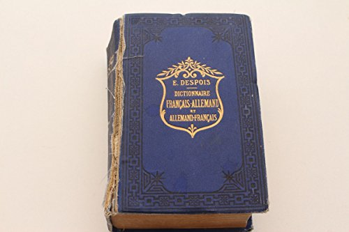 vintage13.de E. Despois Deutsch-Französisch Wörterbuch Dictionnaire