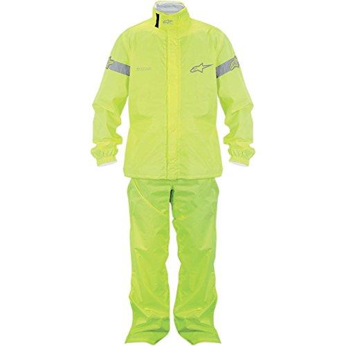 Quick Seal Out Regenkombi 2tlg. fluo-gelb XXL - Motorrad Regenbekleidung