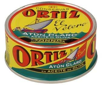 Tonno Pinna Gialla all'olio di oliva 600g Ortiz