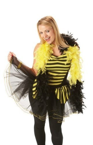 Rubie's Bumblebee Basque Top Fancy Dress (Bumblebee Kostüme Erwachsene)